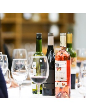 Botella Vino Castaño Rosado Monastrell